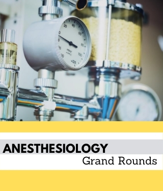 Anesthesiology Grand Rounds Banner